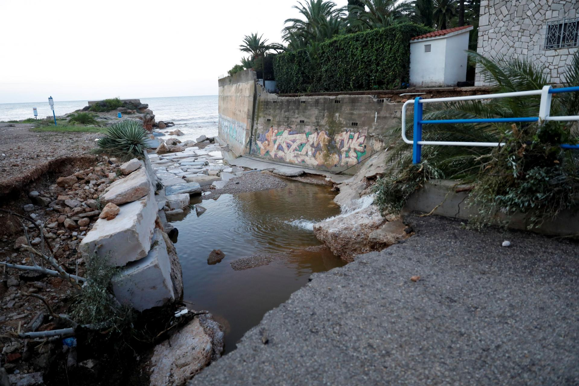 Floods aftermath in Vinaros