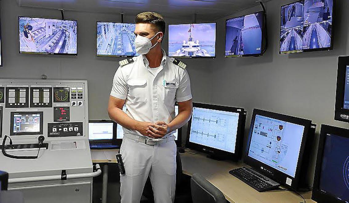 'Mein Schiff 2' Environmental Agent, Milos Grgic.