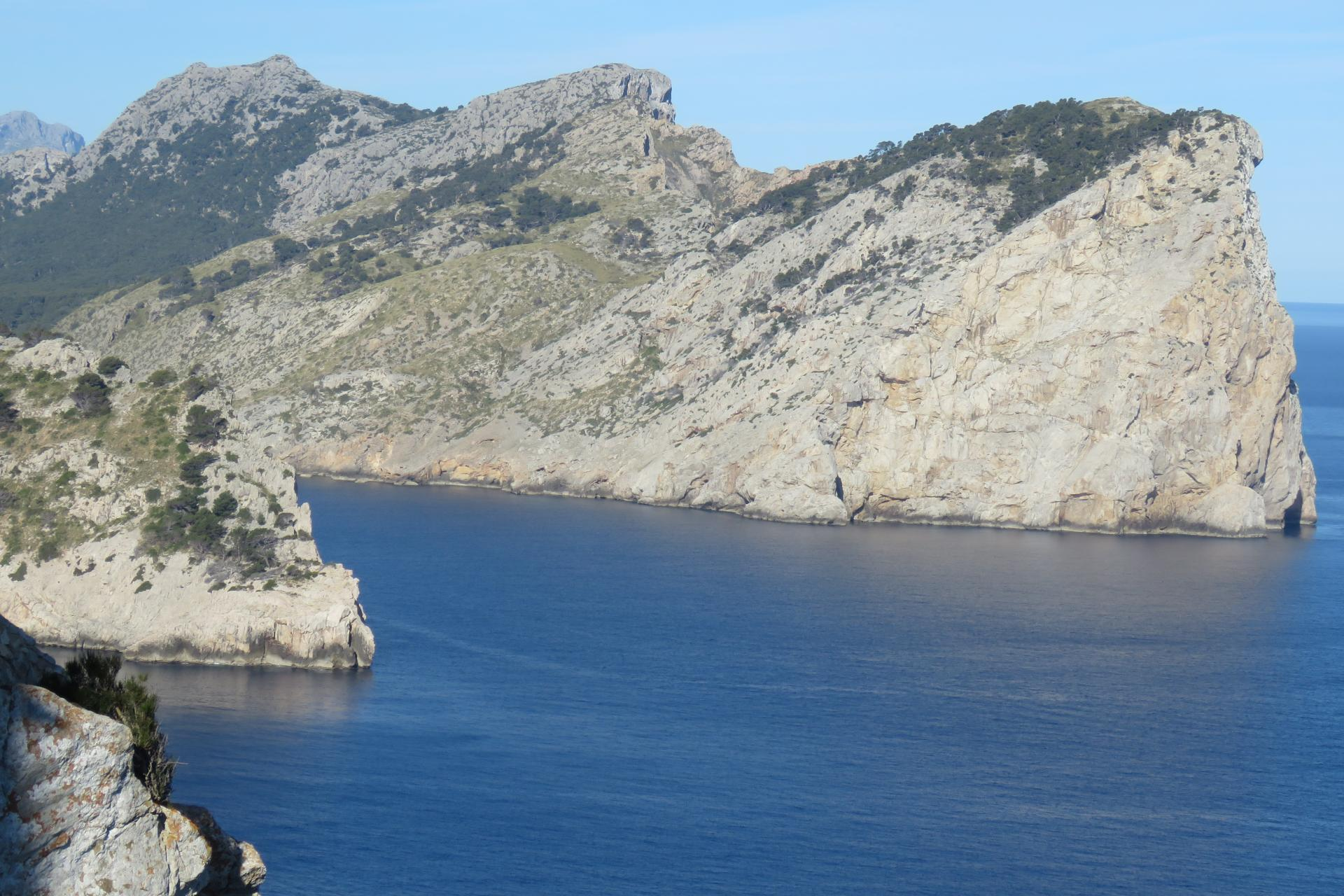 Cliffs of Formentor - typical nesting sites