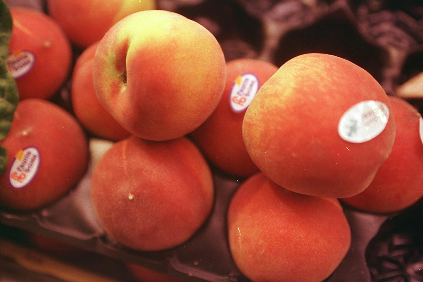 The peach is one of the most sensual fruits