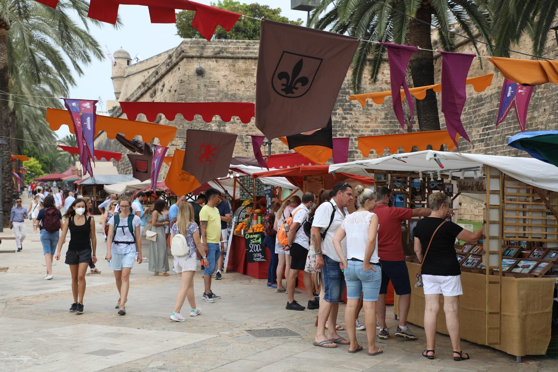 Medieval market in Palma