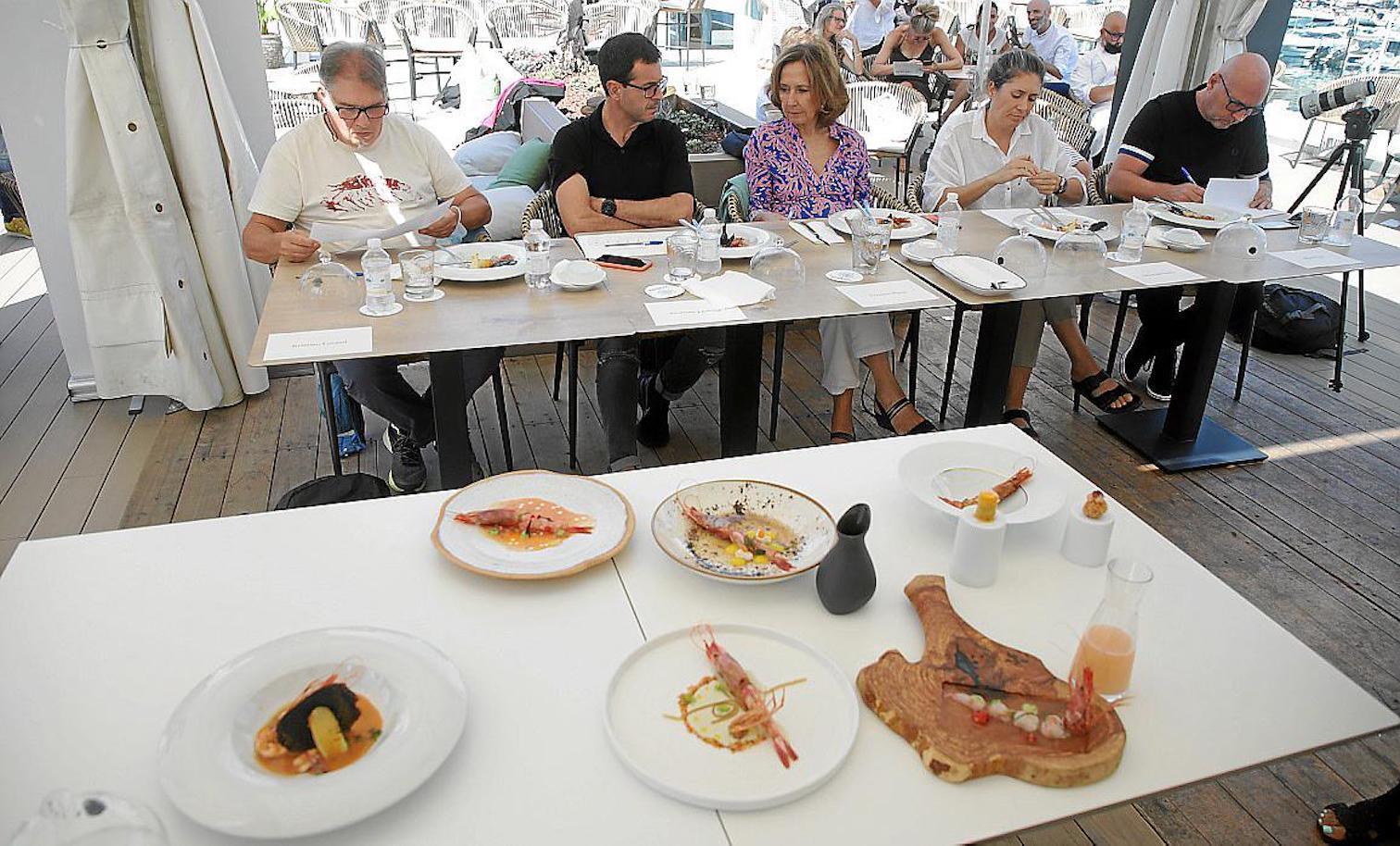 Competition Judges: Chef Marc Fosh, Chef Macarena de Castro, Chef Ricard Camarena, Chef Kristian Lutaud & Royal Academy of Gastronomy President, Lourdes Plana.