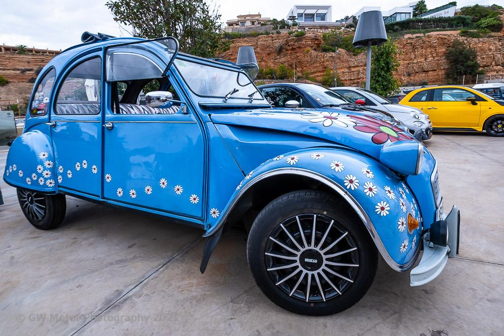 Citroen Dyane, simple cars have more fun, and provide lots of smiles.