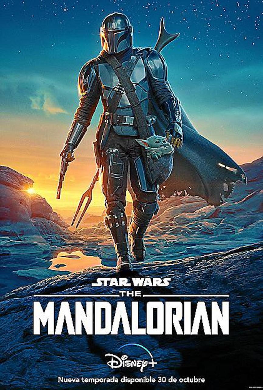 'Star Wars-The Mandalorian' poster.