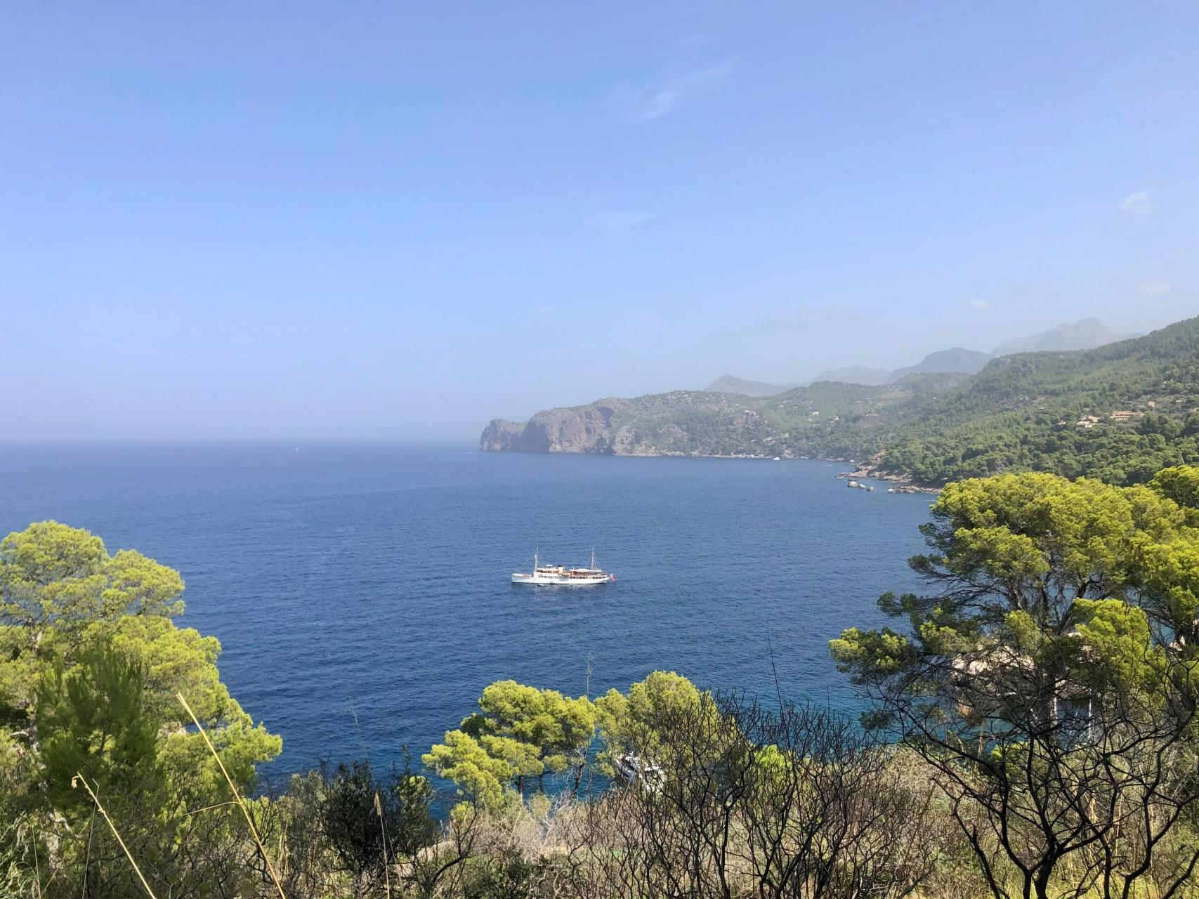Commanding the bay of Deia