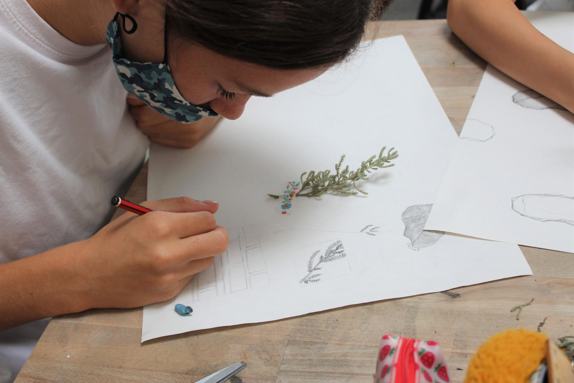 Art is one of our most popular options for iGCSE