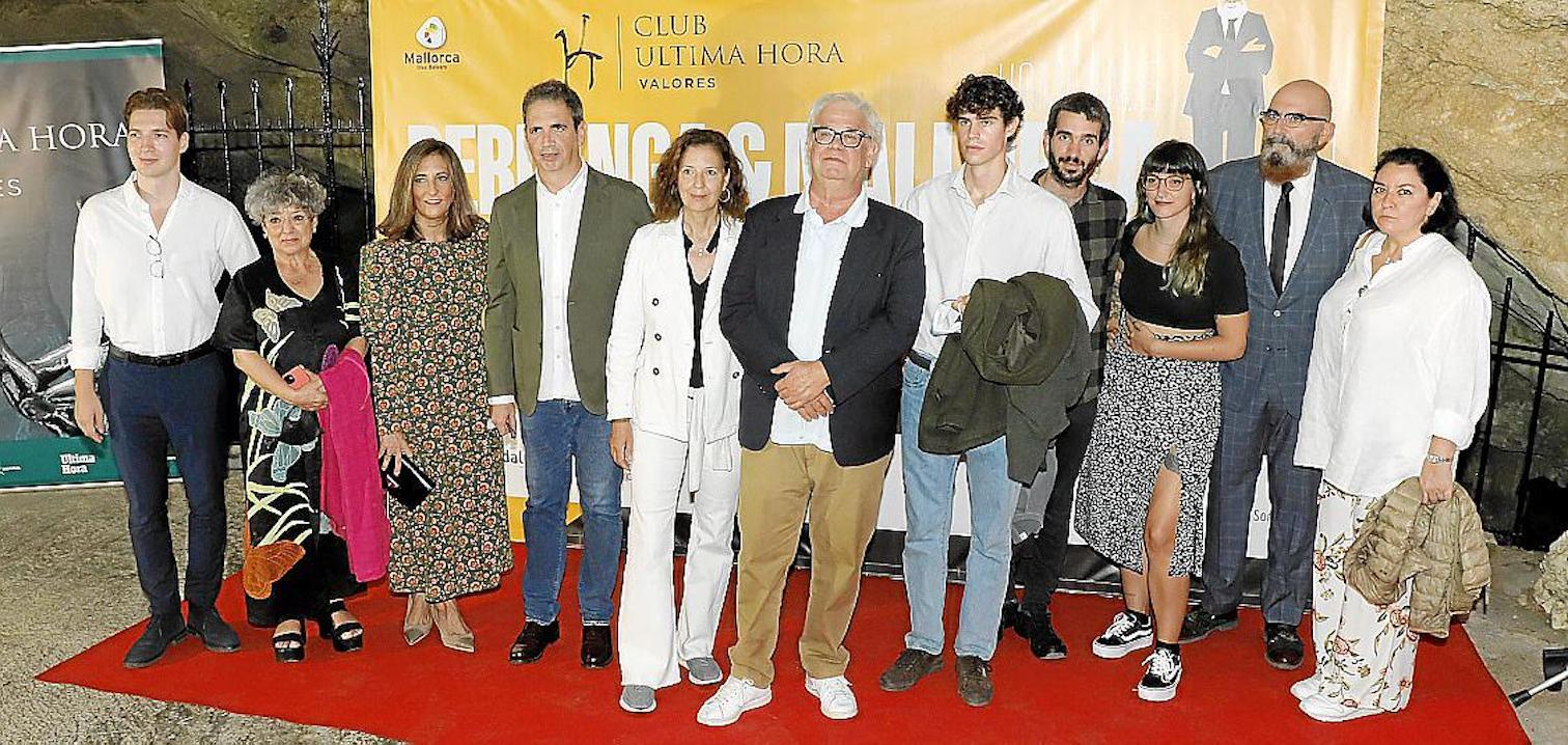 Jorge García Berlanga, Sol Carnicero, Mar Alcón, Fernando García Berlanga, María Arostegui;  José Luis, Fidel and Luis García Berlanga, Clara Fernández, Juan Carlos Caro & Ana Pérez-Lorente.