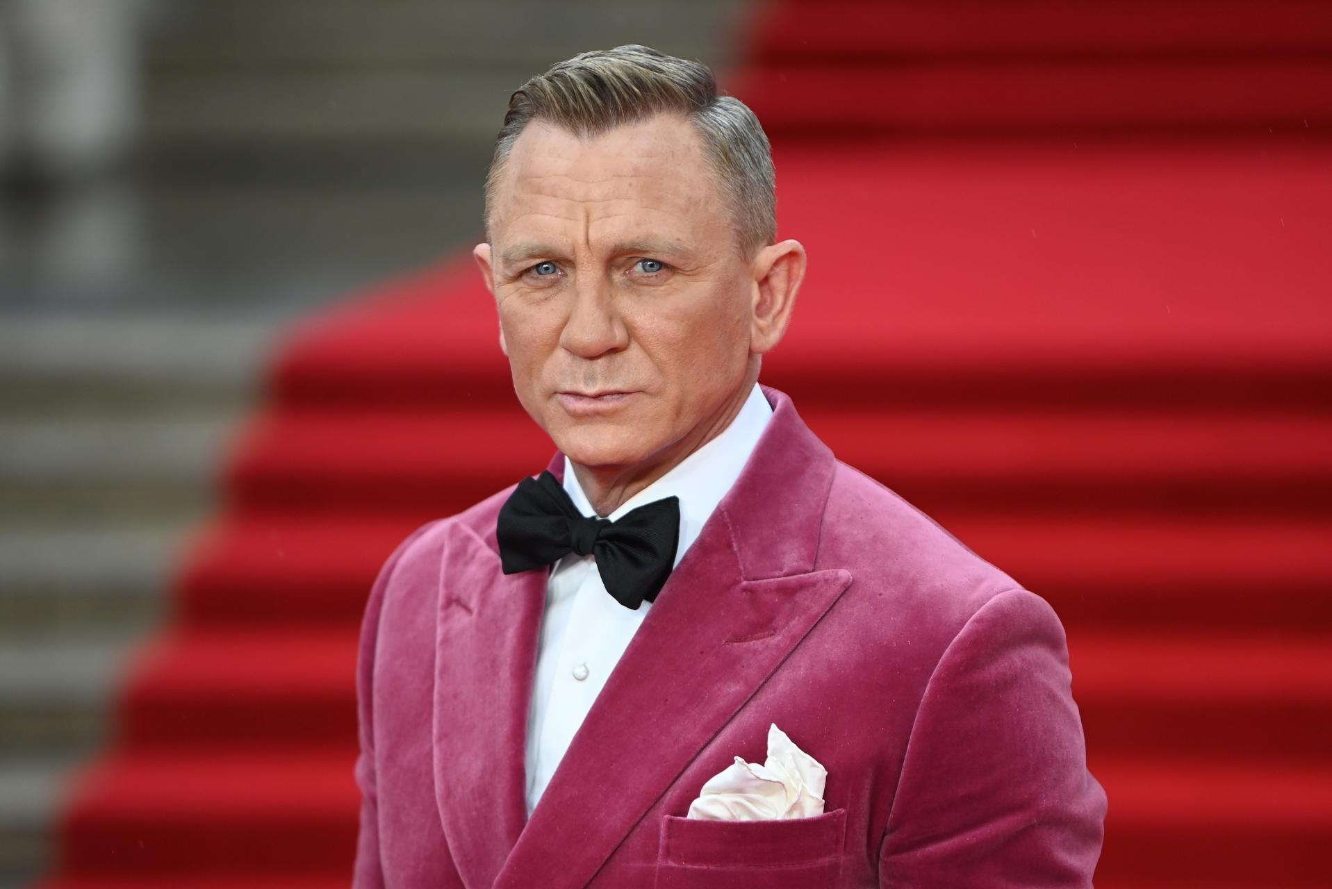 LONDRES. CINE. Daniel Craig, ACTOR.