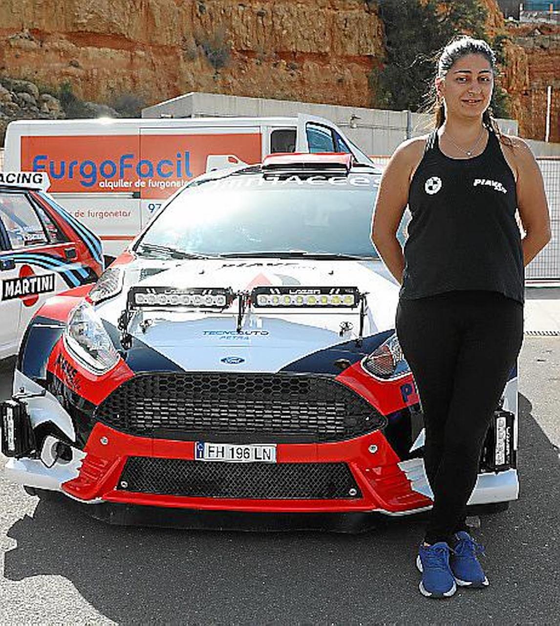 Italian Drift champion, Arianna Corallo.