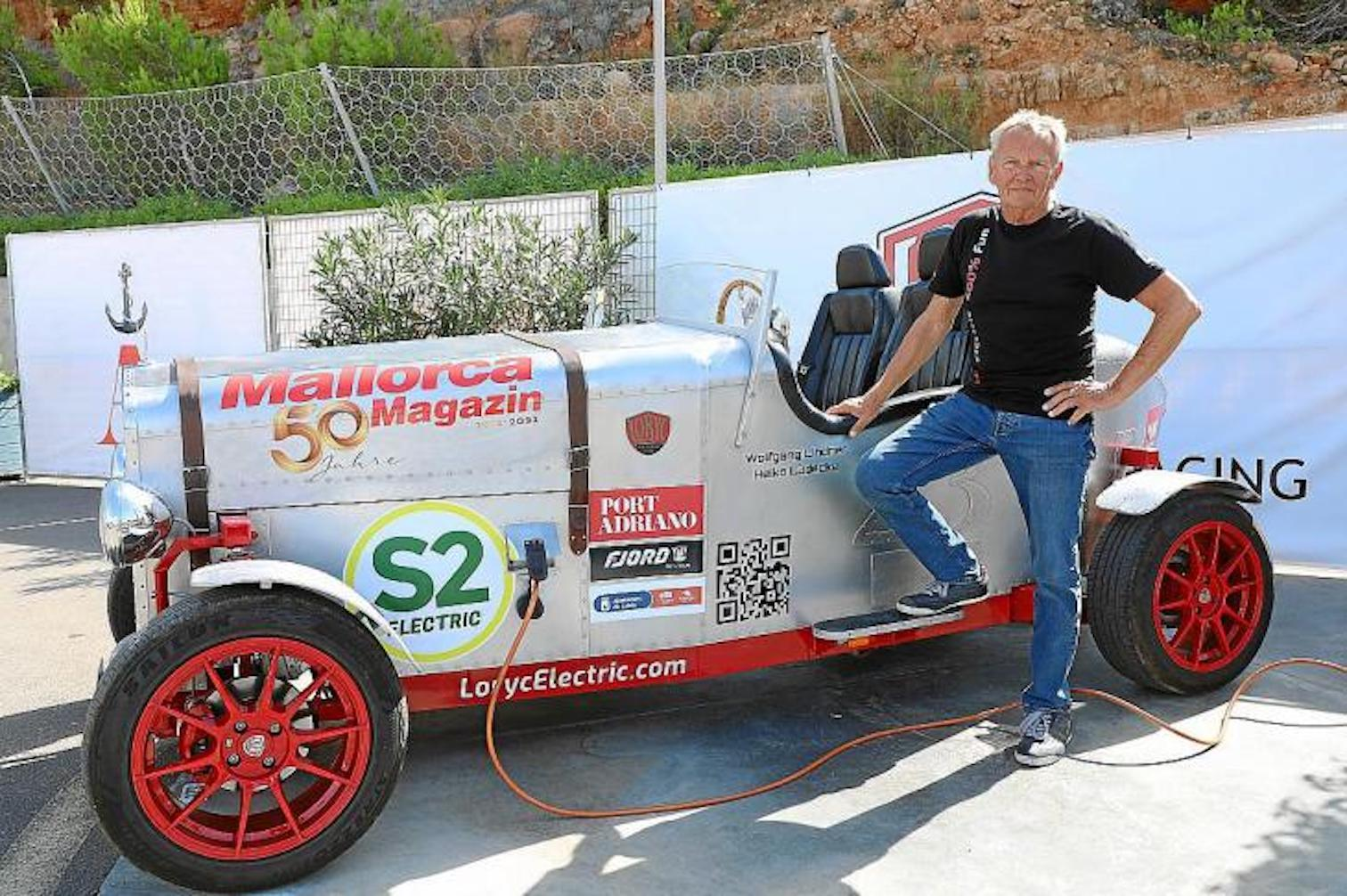 Wolfgang Linder & his Loryc Electric.