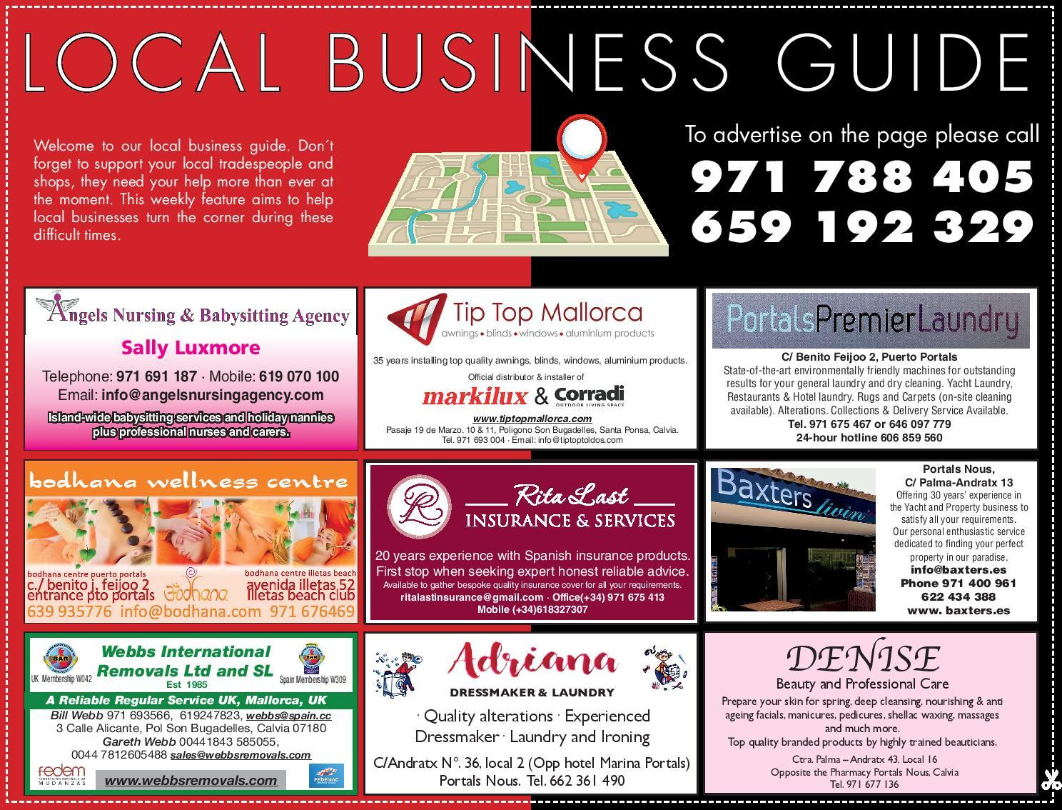 Local Business Guide across Mallorca