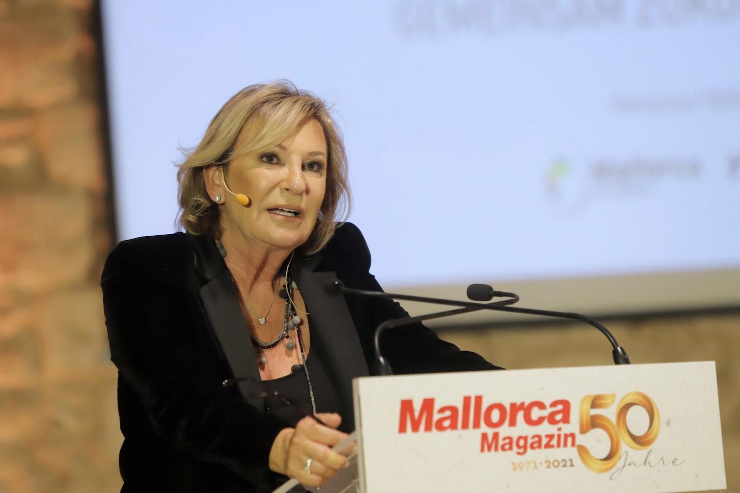 Sabine Christiansen, German Journalist.