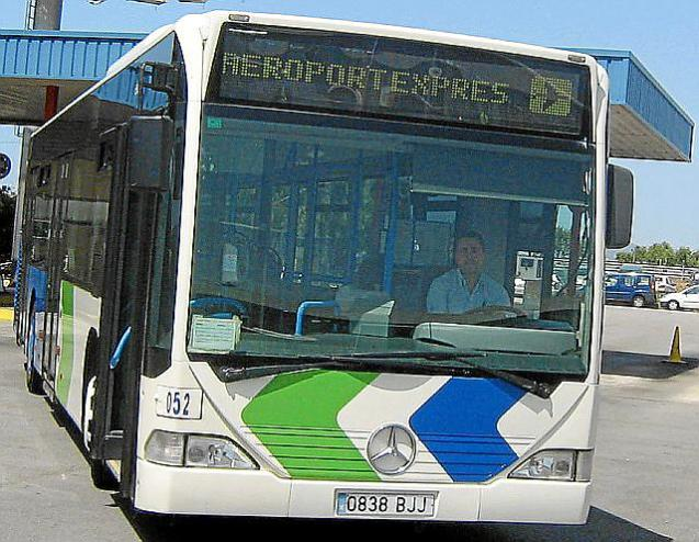 Bus service.