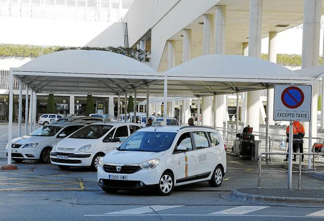 Taxis at Palma airport