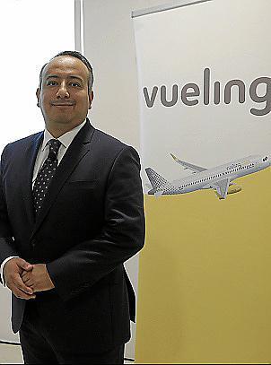 PALMA. COMPAÑIAS AEREAS. Manuel Ambriz, director de red de rutas de Vueling , en Palma.