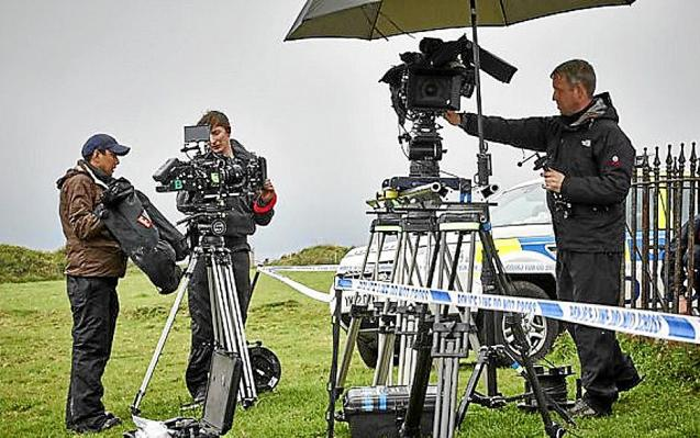 Filming will be taking place this autumn. Right, Paul Abrey of Palma Pictures.