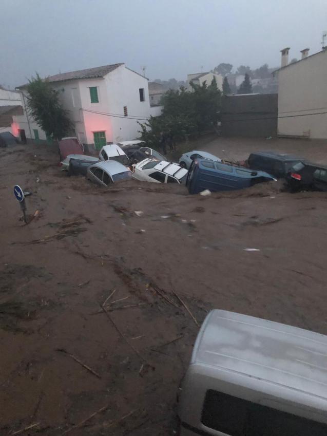 Palma sucesos torrente desbordado en Sant Llorenç des Cardessar. Fotos varias. Inundaciones (6).jpg