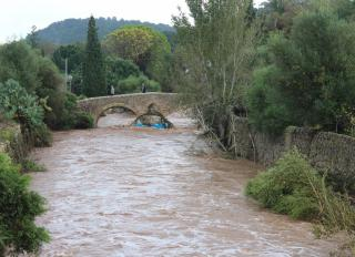 Flash floods hit North East Majorca