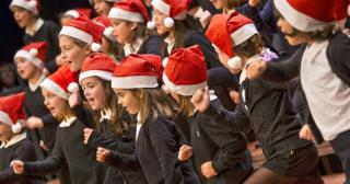 Christmas concert with the children's and adult choirs at Palma's Teatre Principal on Saturday.