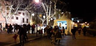 Alcudia's Christmas market, the second this Saturday.