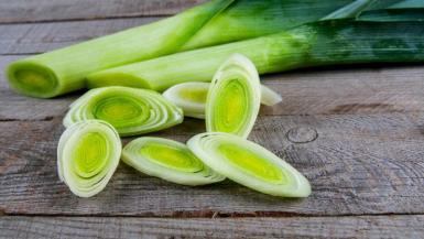 Leeks can sometimes be overlooked.
