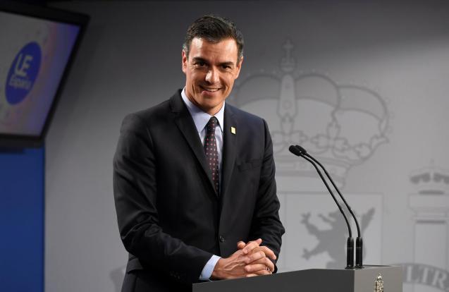 Spain's Prime Minister Pedro Sanchez.