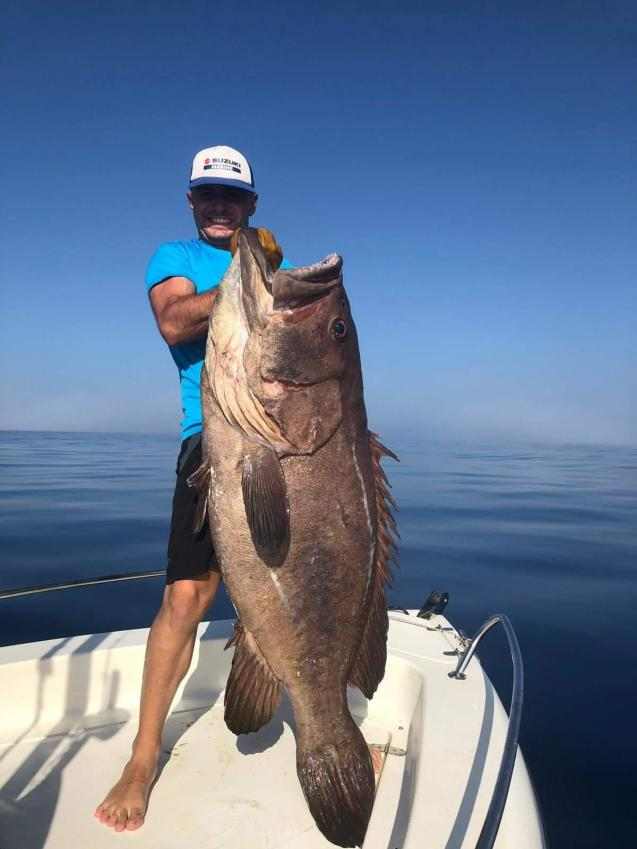 Giant fish caught in Palma