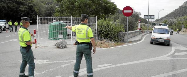 Traffic control in Calvia