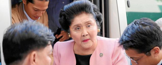 Former Philippine First Lady Imelda Marcos