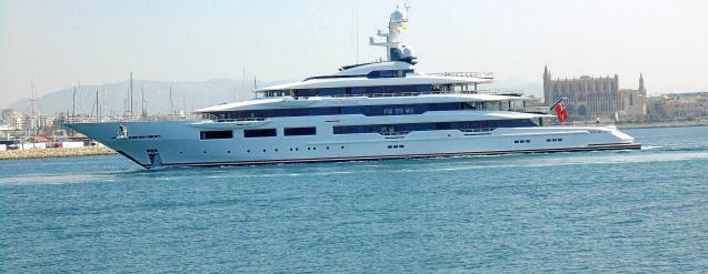 Superyacht DreAMBoat in Palma