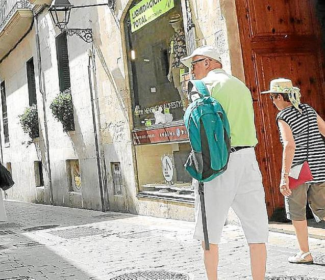 People walking through the streets of Palma