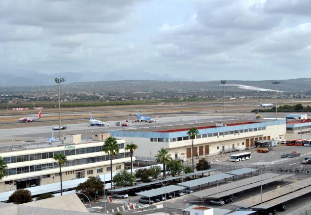 Sant Joan airport in Palma