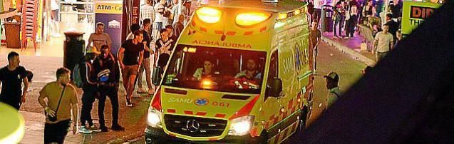 Ambulance in Punta Ballena