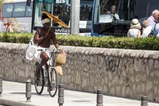 Remaining hot in Majorca.