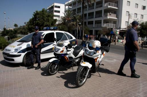 Police in the Playa de Palma