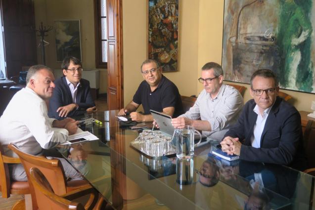 Negueruela has held his first meeting with Calvia's mayor yesterday