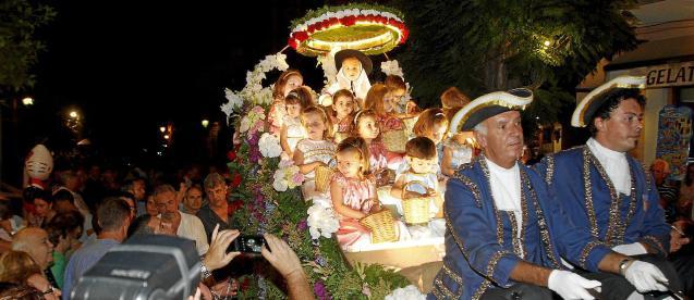 The procession of La Beata in Valldemossa