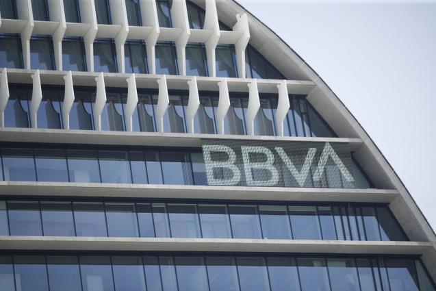 BBVA bank in Madrid