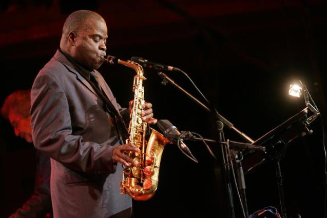 Sax player Maceo Parker