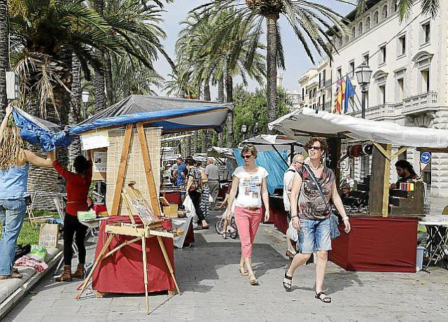 Street markets in Palma