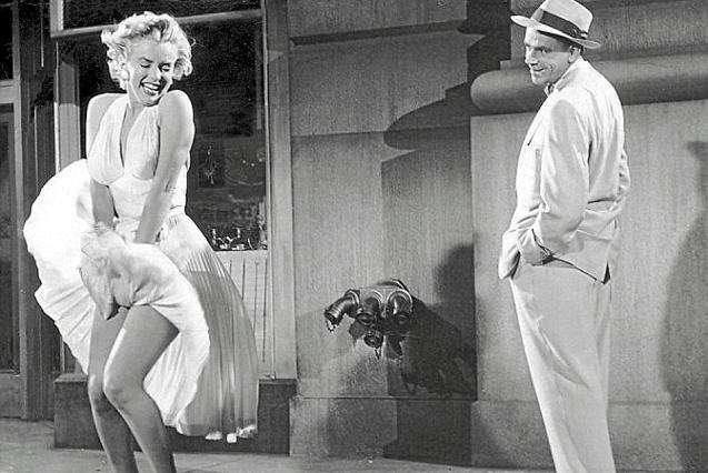 Marilyn Monroe in the 1955 film The Seven Year Itch