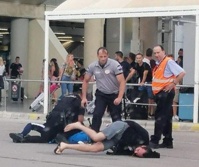 Tourists arrested at Palma airport