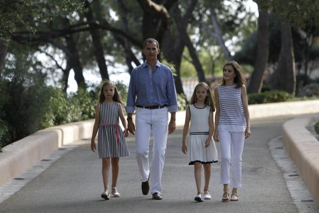 Spanish Royal Family in Majorca