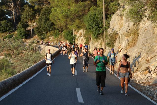 annual walk to Lluc