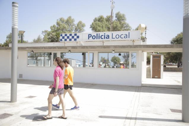 The Police Department on the Playa de Palma