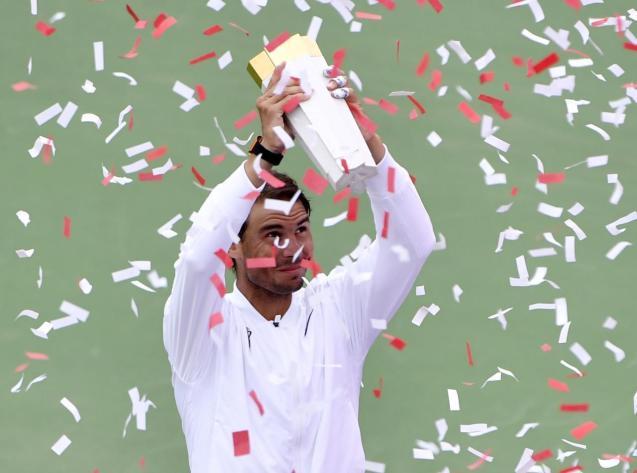 Rafa wins Rogers Cup in Montreal