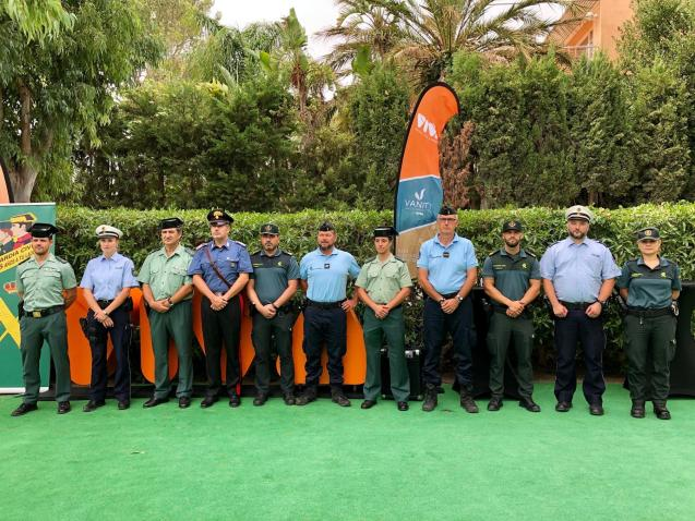 Reinforcement officers for Guardia Civil