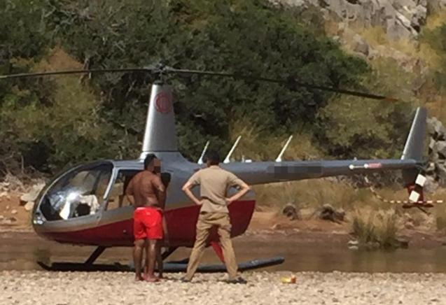 Unauthorised landing