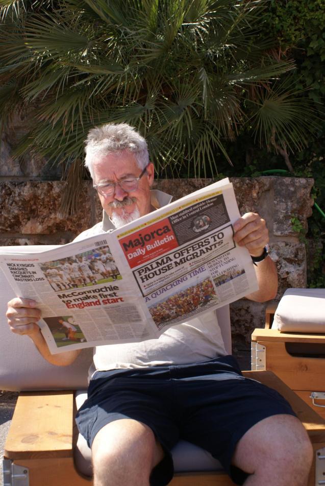 Griff Rhys Jones in Palma