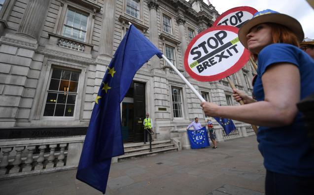 Anti-Brexit protest